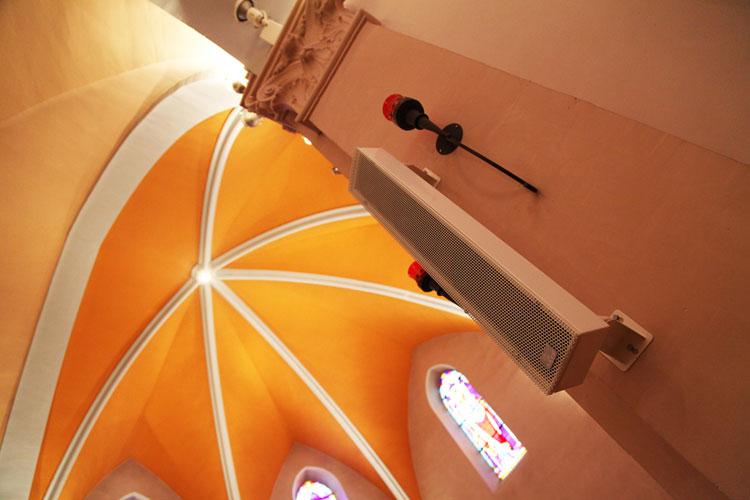 sonorisation église saint andré de corcy